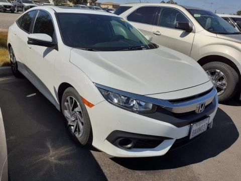 Pre-Owned 2017 Honda Civic EX
