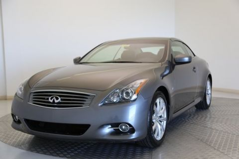 Certified Pre-Owned 2014 INFINITI Q60 Convertible