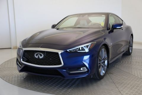Certified Pre-Owned 2018 INFINITI Q60 Red Sport 400